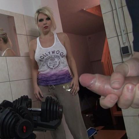 Personal Trainer beim Wixen erwischt