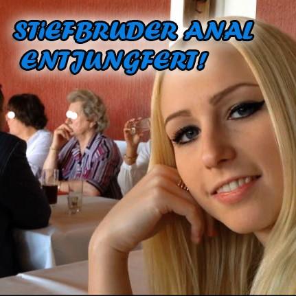 STIEFBRUDER ANAL ENTJUNGFERT-auf OMA`s 80zigsten!