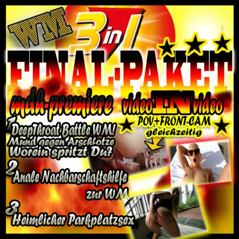WM WETTEINSATZ!!  3 in1 LUCY´S FINAL-PAKET!