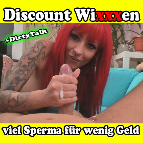 Discount Wixxxen - viel Sperma für wenig Geld + DT