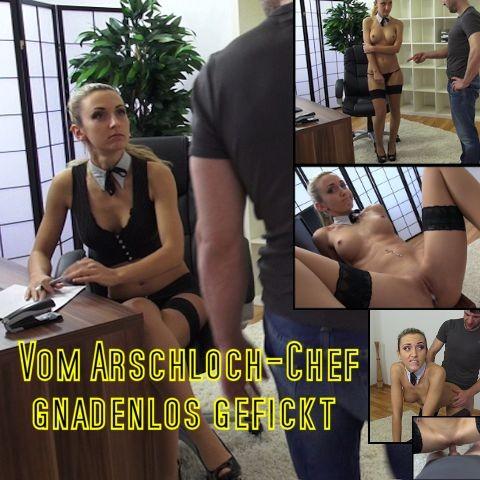 sexxygirl vom arschloch chef gnadenlos gefickt
