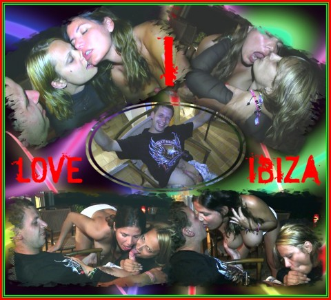 MDH USER vor dem Club OUTDOOR abgemolken! I LOVE IBIZA!