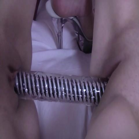 Doppeldildo-Fick| Orgasmus