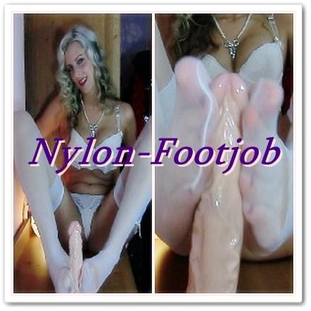 sexspielzeug für männer nylon footjob