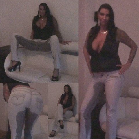 Pipi in meiner Jeans