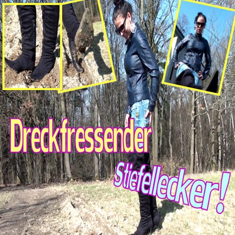Dreckfressender Stiefellecker