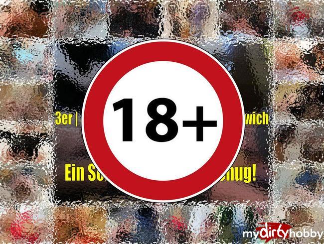 BEST OF 3er 4er Gangbangs Bukkake Sandwich - Ein Schwanz ist nicht genug!