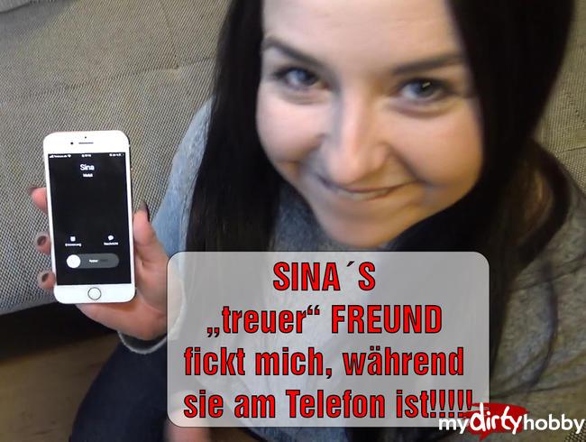 """SINA'S """"treuer"""" FREUND fickt mich, während sie am Telefon ist!!!!!"""